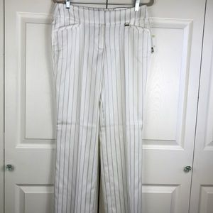 Anne Klein Vanilla Ice Moonbeam Striped 4 Pockets